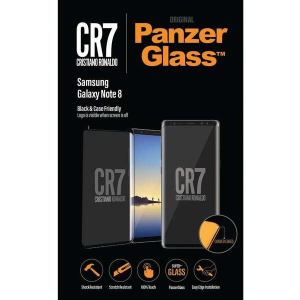 PanzerGlass Edge-to-Edge Samsung Galaxy Note 8 černé CR7