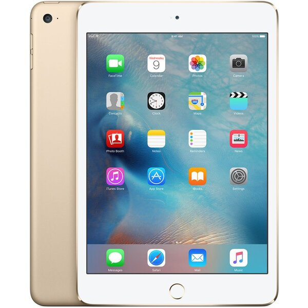 Apple iPad Mini 4 Wi-Fi+Cellular 32GB Gold MNWG2FD/A Zlatá