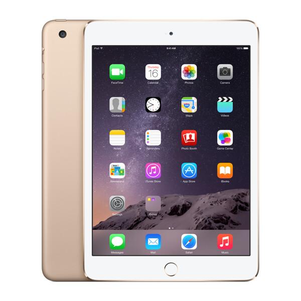 Apple iPad mini 3, 16GB WiFi Zlatá