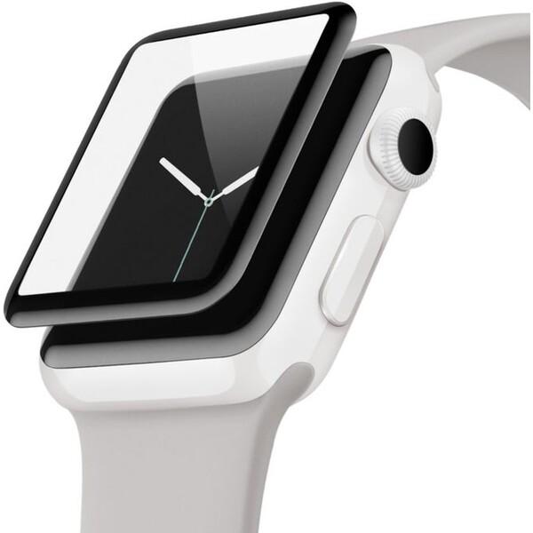 Belkin 3D Screenforce UltraCurve ochranné sklo Apple Watch Series 2/3 42mm černé