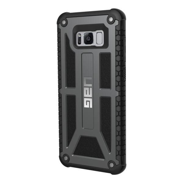 Pouzdro UAG Monarch case Samsung Galaxy S8+ Šedá