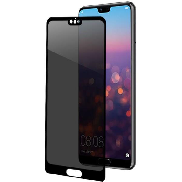 CELLY Privacy 3D ochranné sklo se ztmavovacím efektem Huawei P20 Pro PRIVACYF746BK Černá