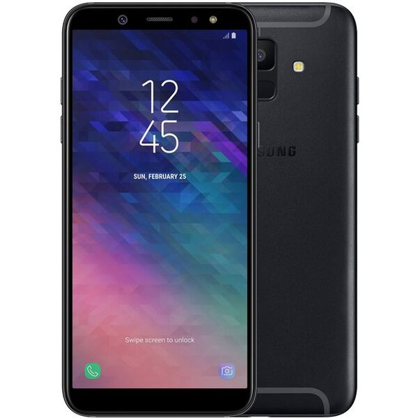 Samsung Galaxy A6 A600F Dual SIM Černá