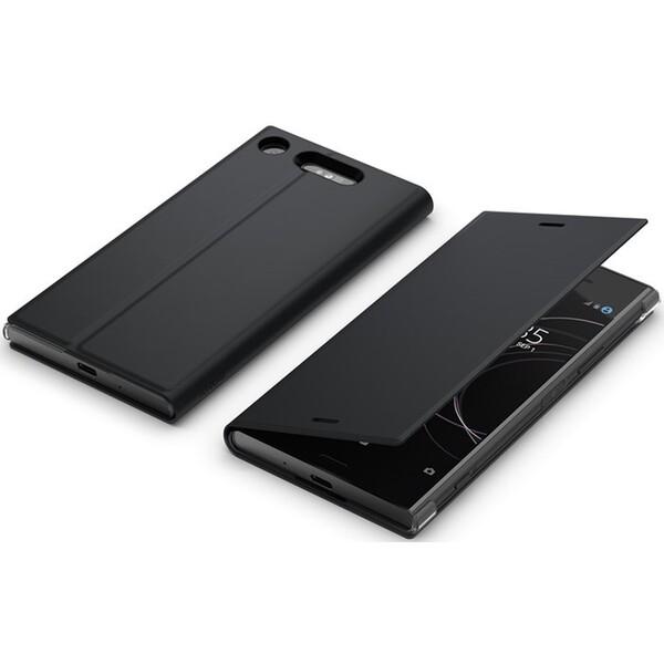 Sony Style SCSG50 flipové pouzdro Sony Xperia XZ1 černé