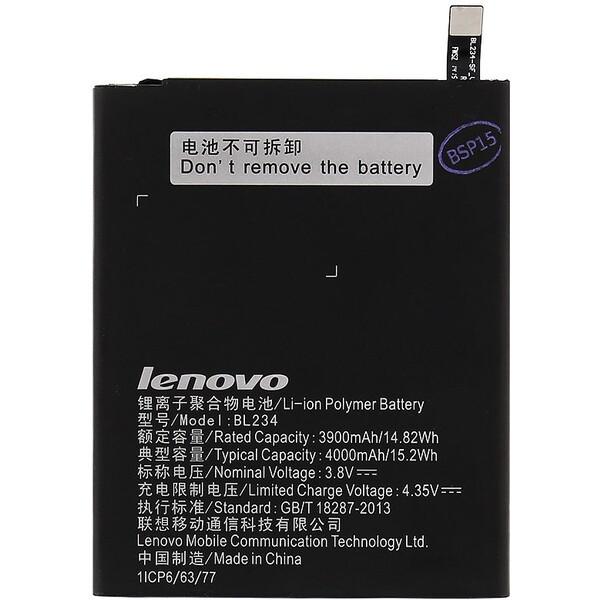 Baterie Lenovo BL234 Černá