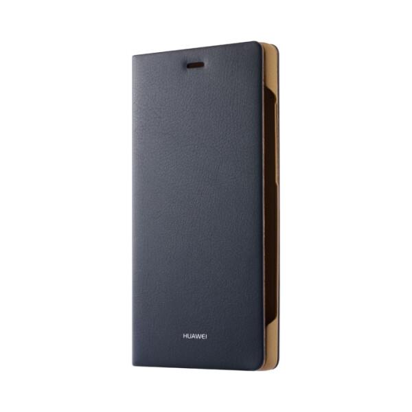 Pouzdro Huawei Original Folio P8 Lite modré Modrá