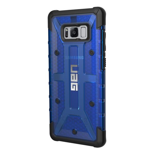 Pouzdro UAG plasma case Cobalt Samsung Galaxy S8+ Modrá