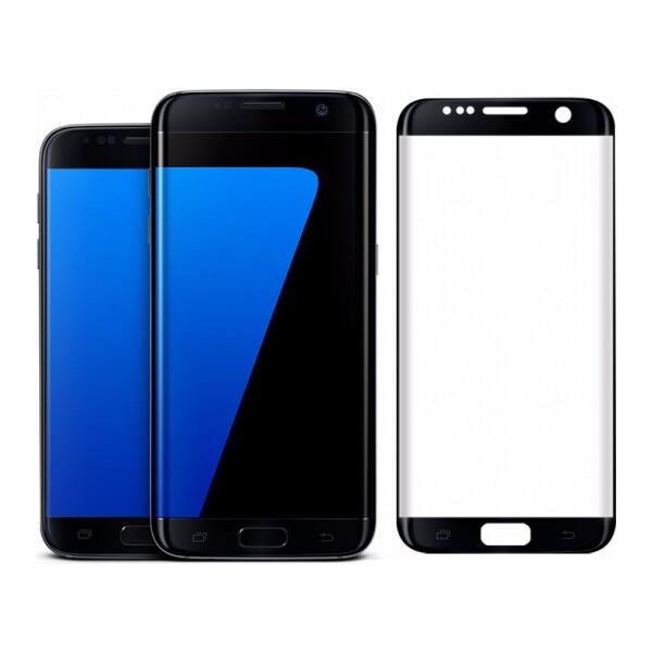 Smarty tvrzené sklo celý displej Samsung Galaxy Note 7 černé