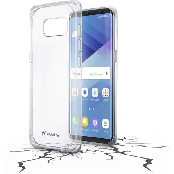Pouzdro Cellularline CLEAR DUO Samsung Galaxy S8 čiré Čirá
