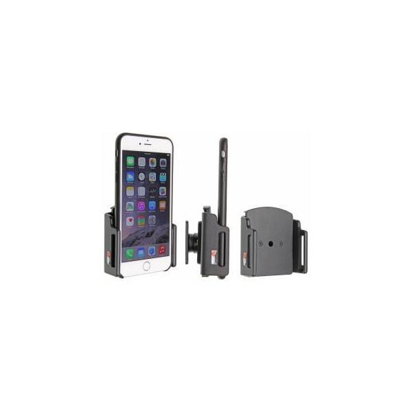 Brodit držák do auta na Apple iPhone 6/6S/7 Plus v pouzdru, bez nabíjení, nastav.š.75-89mm,511667 Černá