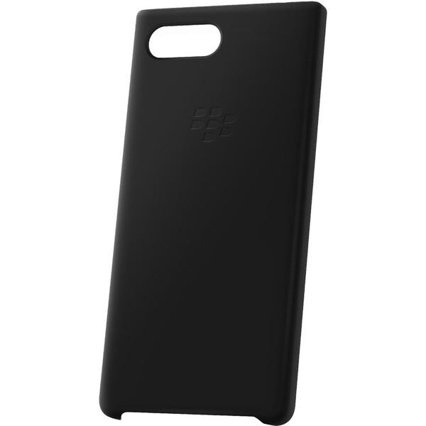 Pouzdro BlackBerry silikonové Soft Shell BlackBerry KEY2 Černá