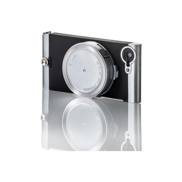 Ztylus Revolver Metal sada pouzdra a objektivů pro iPhone 5/5S/SE stříbrná