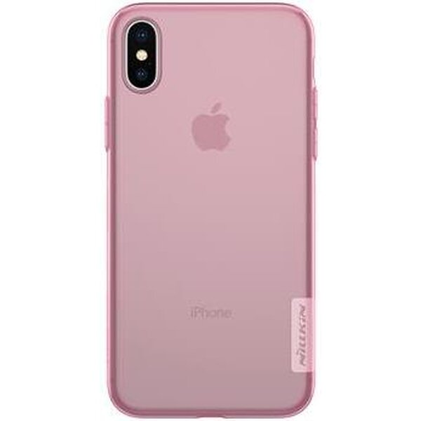 Nillkin Nature TPU pouzdro Apple iPhone X/XS růžové