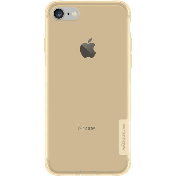 Nillkin Nature TPU pouzdro Apple iPhone 7/8 hnědé