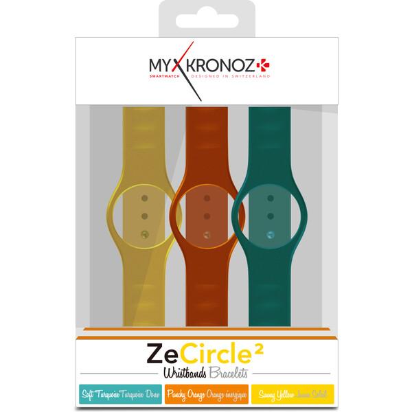 Pásky 3x MyKronoz ZeCircle multi