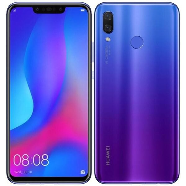 Huawei Nova 3 Dual SIM Fialová