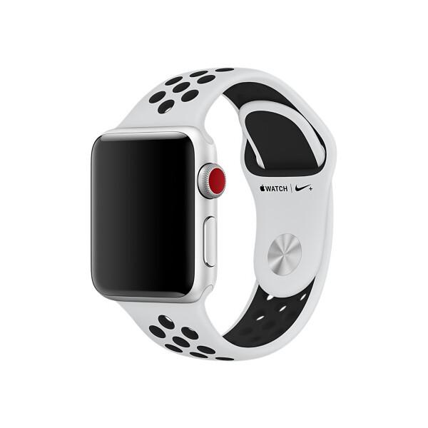 Apple Watch 38mm Platinově Černý Sport. řemínek Nike Platinová   černá 5c562d9c68a