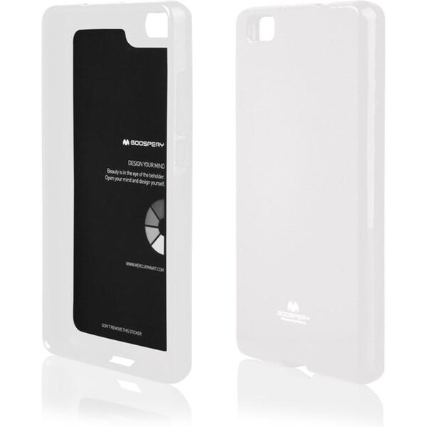 Mercury Jelly pouzdro Huawei P8 Lite bílé