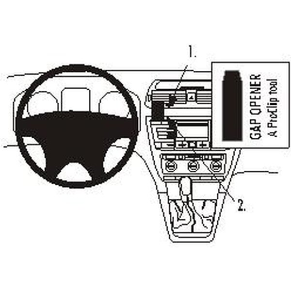 Brodit ProClip montážní konzole pro Škoda Octavia 05 a novější