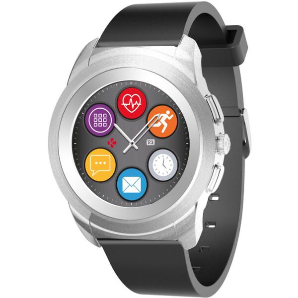 MyKronoz ZeTime Original chytré hodinky 39 mm stříbrné