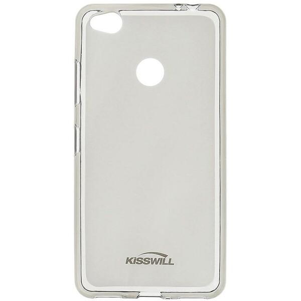 Kisswill TPU pouzdro Nokia 8 černé Černá