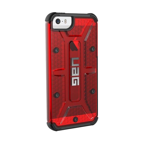 UAG odolné pouzdro Apple iPhone SE/5S červené