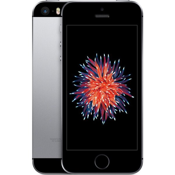 "Apple iPhone SE 16GB / 4"" Retina / 12MPx /MLLN2CS/A / Vesmírně šedá"