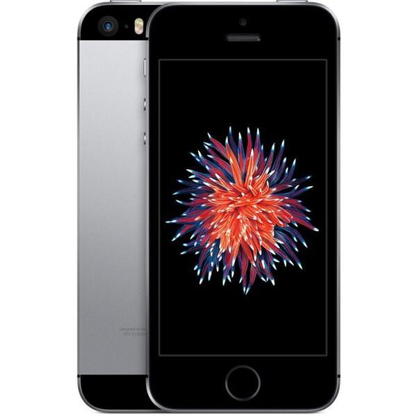 "Apple iPhone SE 16GB / 4"" Retina / 12MPx /MLLN2CS/A / Šedá"