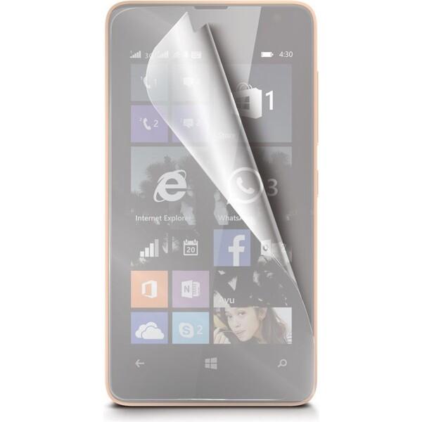 Ochranná fólie Celly Microsoft Lumia 430, 2ks Čirá