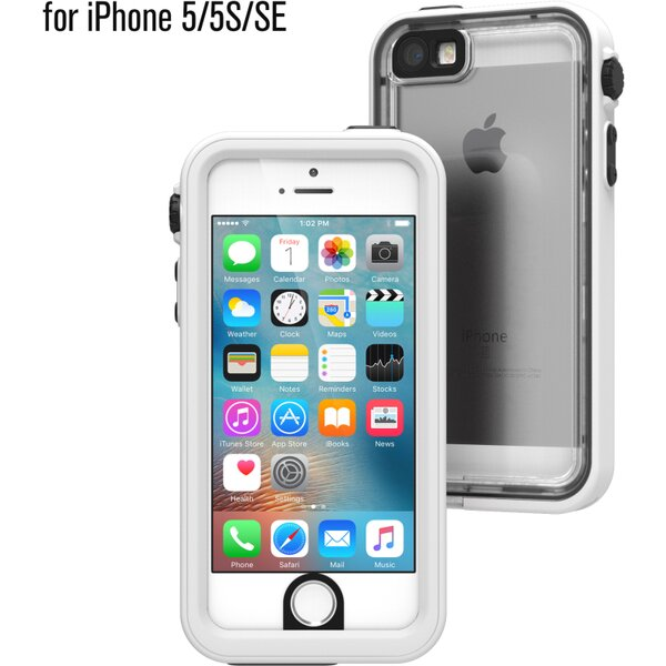 Pouzdro Catalyst Waterproof case Apple iPhone 5/5S/SE - bílé Bílá