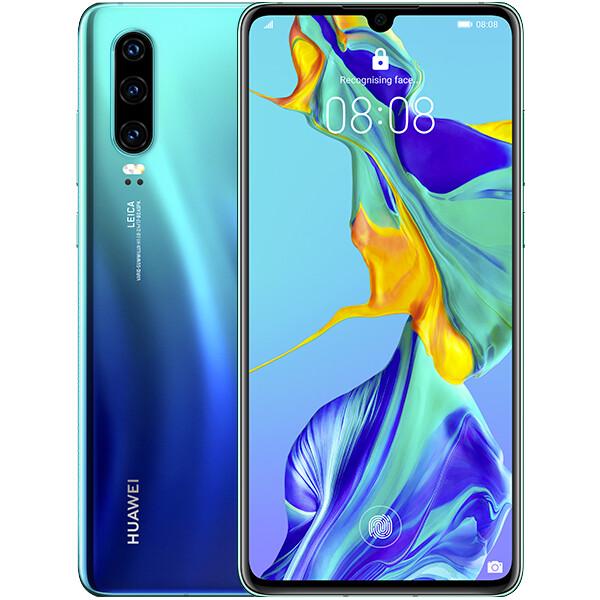 Huawei P30 Modrá
