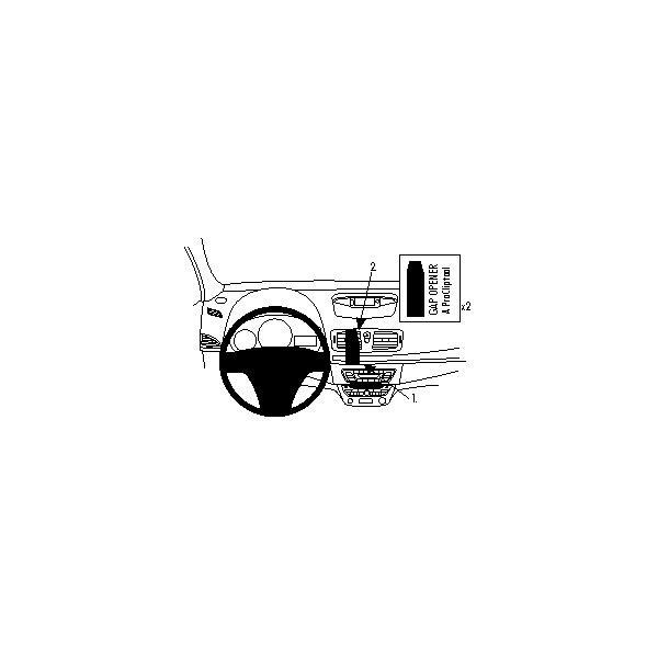 Brodit ProClip montážní konzole pro Renault Mégane New 09-