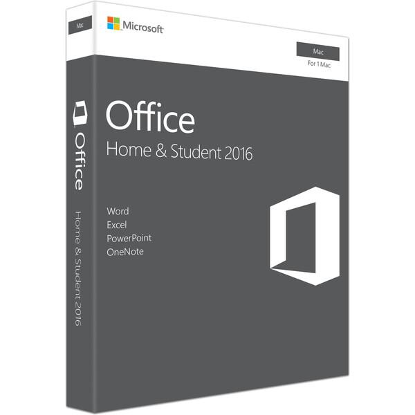 Microsoft Office Mac 2016 pro domácnosti (český jazyk)