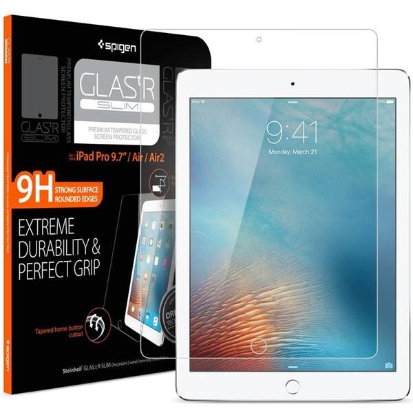 """Spigen Glas.tR SLIM Apple iPad 9.7""""/Pro 9.7""""/Air 2/Air čiré"""