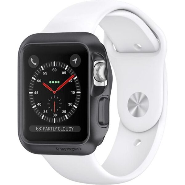 Spigen Slim Armor kryt Apple Watch 3/2/1 42mm šedý