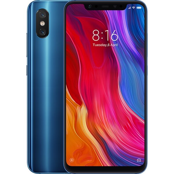 Xiaomi Mi 8 6GB/128GB Modrá