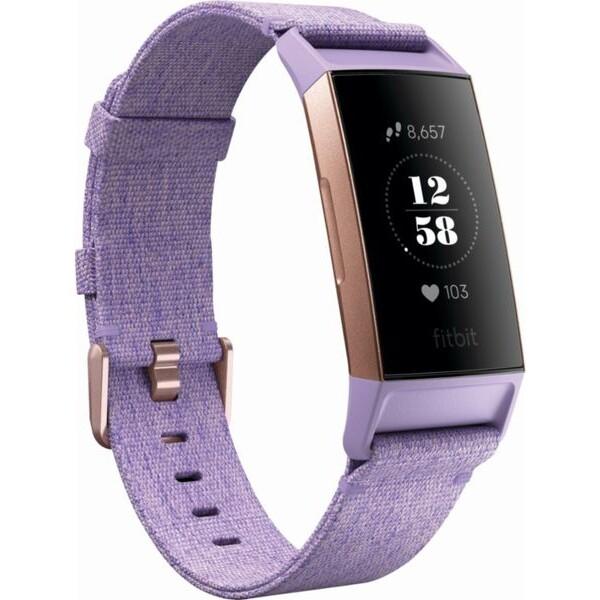 Fitbit Charge 3 FB410RGLV-EU Růžově zlatá