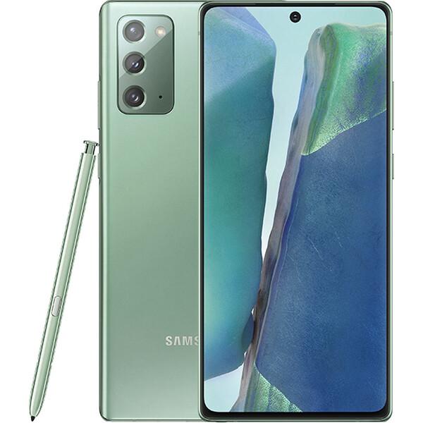 Samsung Galaxy Note20 zelený