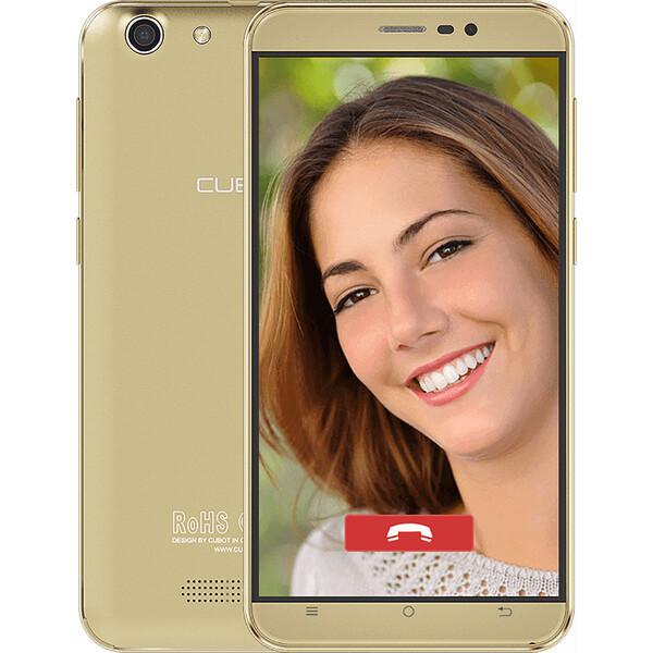 CUBOT Note S 16GB Zlatá