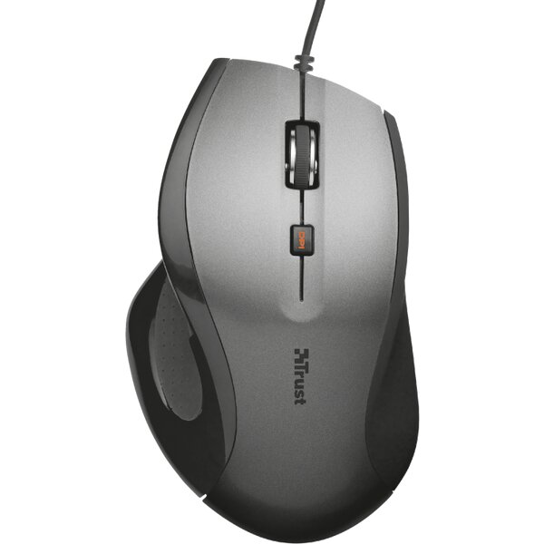 Trust MaxTrack myš šedá