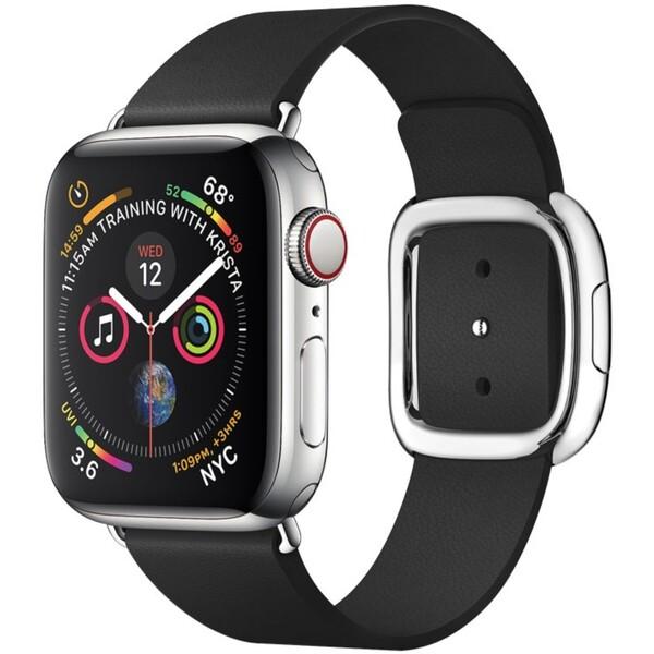COTEetCI Nobleman kožený řemínek Apple Watch 38/40mm černý