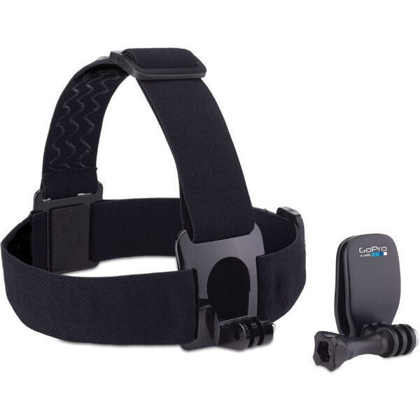 70af63b41c8 GoPro čelenka na hlavu + QuickClip ACHOM-001 Černá