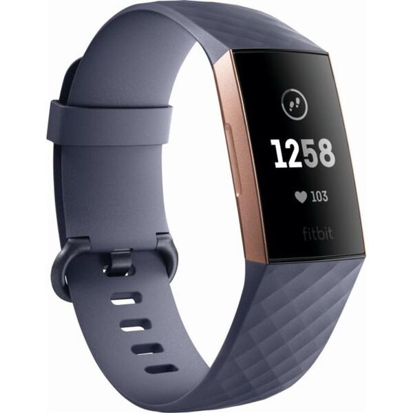 Fitbit Charge 3 FB409RGGY-EU Růžově zlatá