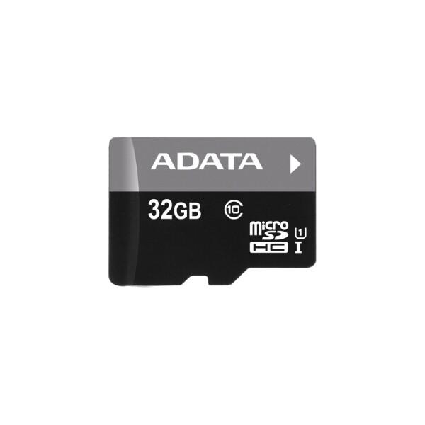 ADATA Premier microSDHC 32GB Class 10 + adaptér AUSDH32GUICL10-RA1 Černá
