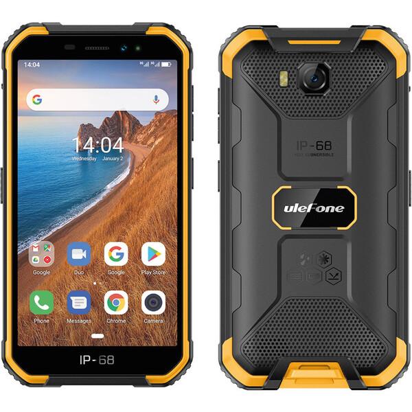 UleFone Armor X6 2GB+16GB Dual SIM oranžový