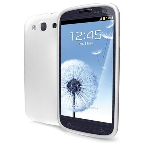 CELLY Gelskin silikonové pouzdro Galaxy S III čiré