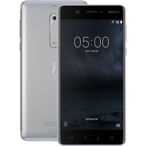 Nokia 5 Single SIM Stříbrná