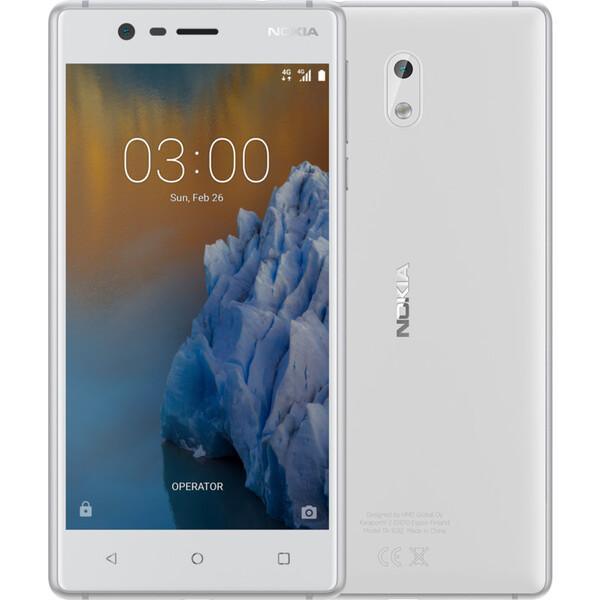 Nokia 3 Dual SIM Bílá