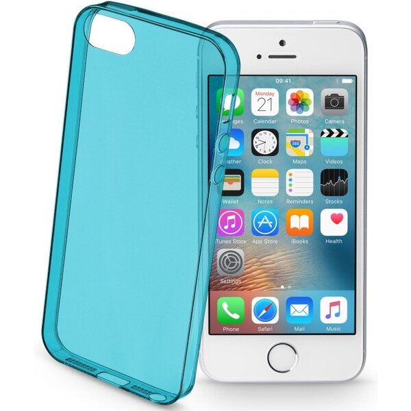 Pouzdro CELLULARLINE COLOR Apple iPhone 5/5S/SE Zelená
