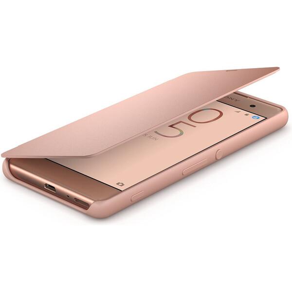 Sony SCR54 Style Cover flipový kryt Xperia XA růžový